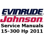 Service Manuals for 2011 Evinrude E-TEC outboards 15-300 Hp