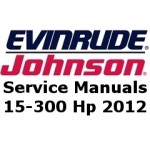 Service Manuals for 2012 Evinrude E-TEC outboards 15-300 Hp