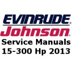 Service Manuals for 2013 Evinrude E-TEC outboards 15-300 Hp