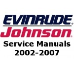 Service Manuals for 2002-2007 Evinrude and Johnson