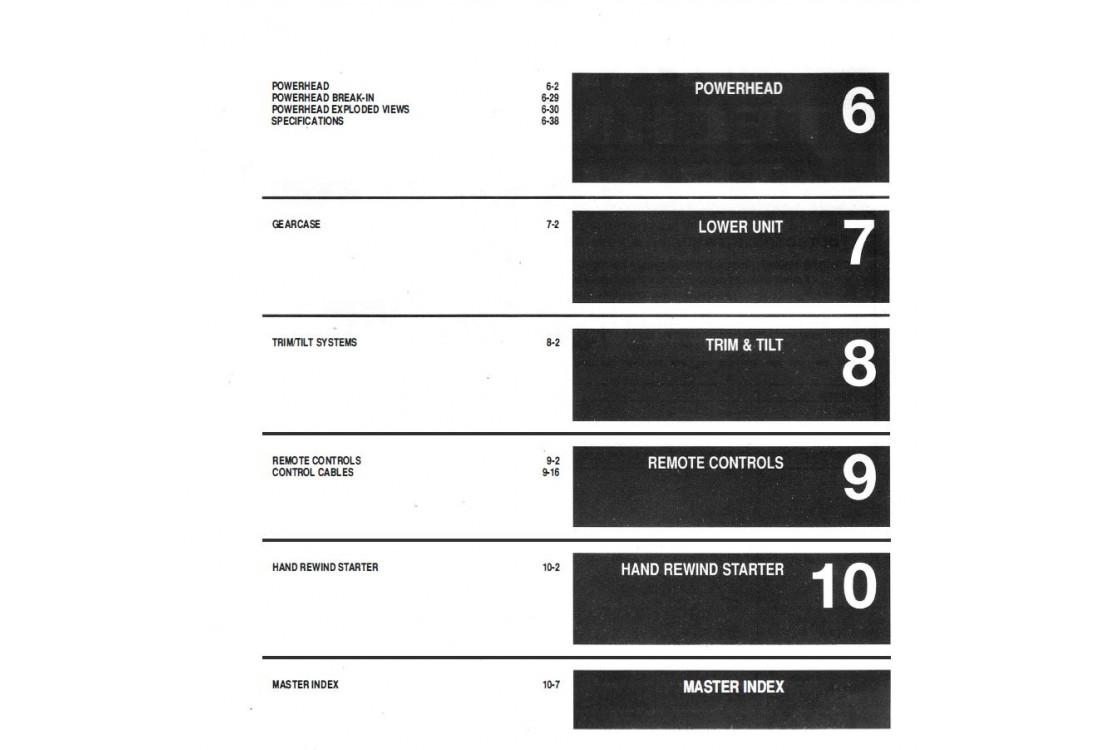 Service Manual 2002-2006 Evinrude E-tec and Ficht 2-stroke 40-250 HP