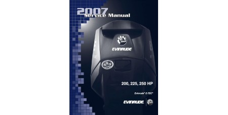 Service Manual 2007 Evinrude E-tec 200-225-250 Hp 90V6