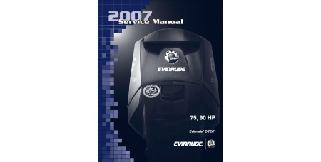 Service Manual 2007 Evinrude E-tec 75-90 Hp