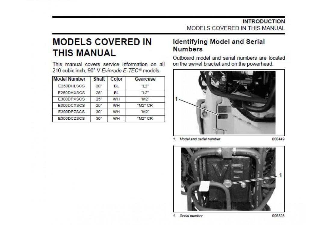 2008 Evinrude 55mfe service manual
