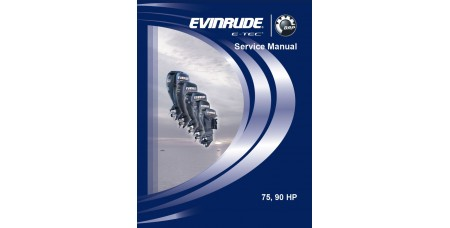 Service Manual 2008 Evinrude E-tec 75-90 Hp