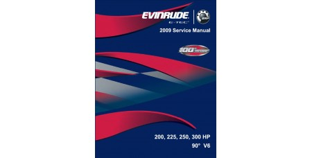 Service Manual 2009 Evinrude E-tec 200-225-250-300 Hp 90° V6