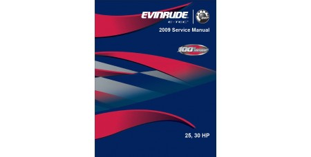 Service Manual 2009 Evinrude E-tec 25-30 Hp