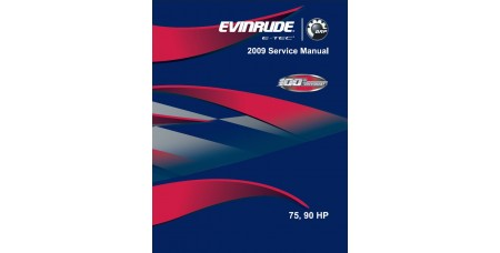 Service Manual 2009 Evinrude E-tec 75-90 Hp