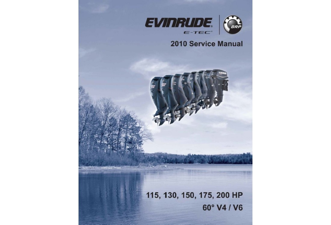 Service Manual 2010 Evinrude E-tec 115-130-150-175-200
