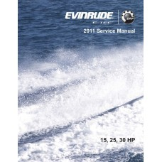Service Manual 2011 Evinrude E-tec 15-25-30 Hp