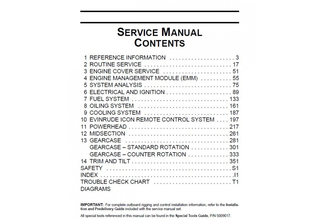 Service Manual 2013 Evinrude E
