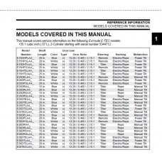 Service Manual 2013 Evinrude E-tec 15-25-30 Hp