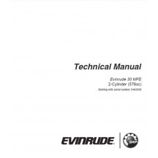 Service Manual 2016 Evinrude MFE 30 Hp