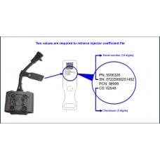 Snowmobile E-TEC Injector Coefficient File