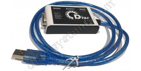 BUDS ver.MPI-3 Diagnostic Kit + License Megatech 10 years